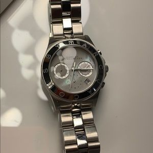 MARC by Marc Jacobs Mother of Pearl Face Watch